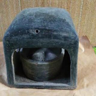 昔のアンカ(炭を入れて暖を取るもの)同じ物2つで100円