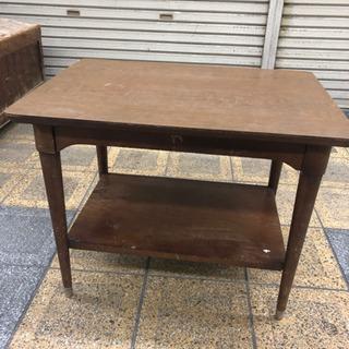 応接テーブル センターテーブル レトロ アメリカ製?