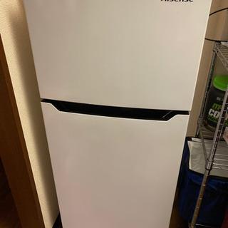 中古一人暮らし 冷蔵庫 ハイセンスお譲りします
