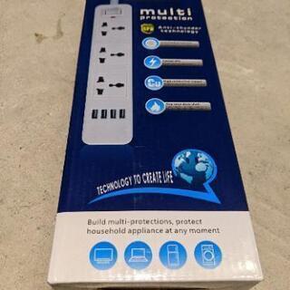 電源タップ USBコンセント 延長コードUSB付き テーブルタッ...