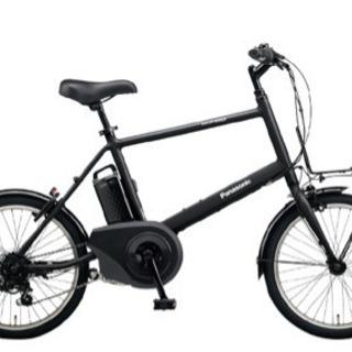 電動アシスト自転車 ベロスター・ミニ ブラック