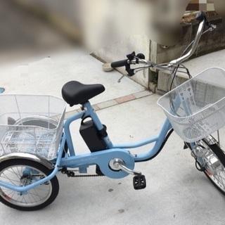 ✨美品✨電動アシスト三輪自転車