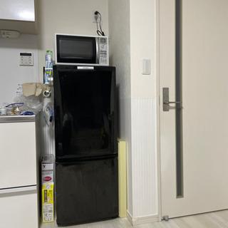 【無料であげます】ブラック冷蔵庫