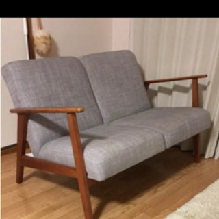 IKEA ソファ グレー エーケネセット