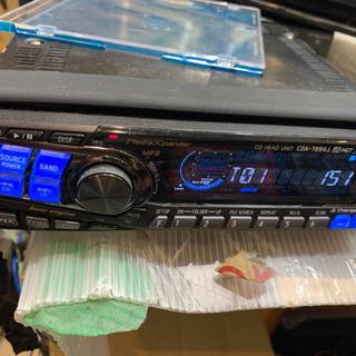 【ネット決済】ALPINE CDヘッドユニット CDA-7894