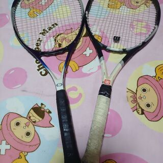 【ネット決済・配送可】テニスラケット 5本セット