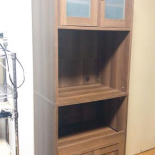 食器棚 キッチンボード レンジボード 高さ180cm