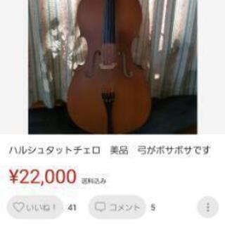 ハルシュタットチェロ二万円