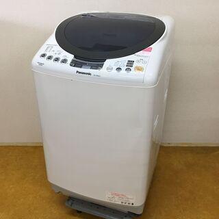 パナソニック タテ型 洗濯 乾燥機 NA-FR80H6 容量たっ...