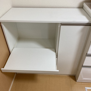 キッチン収納 レンジボード ニトリ