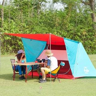 CHUMS A-Frame Tent 3 TealRed