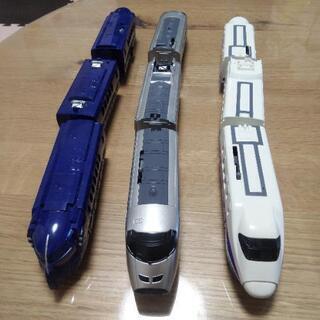 プラレール 3台