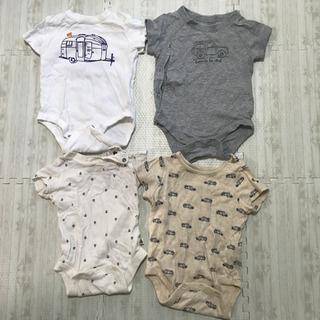 Baby gap 夏服ロンパース 60 4枚セット