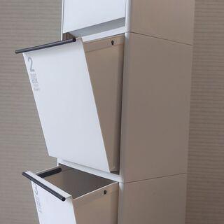 3連ゴミ箱