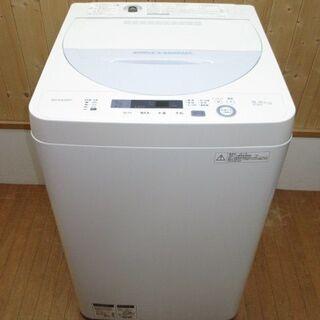 【ネット決済・配送可】【中古】rk1269 シャープ 洗濯機 E...