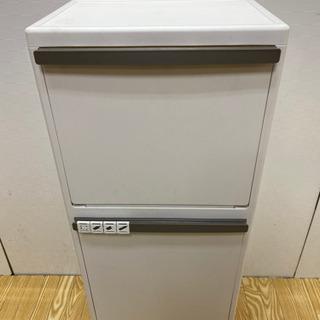 【ネット決済・配送可】stp-0995 ダストボックス 2分別 ...