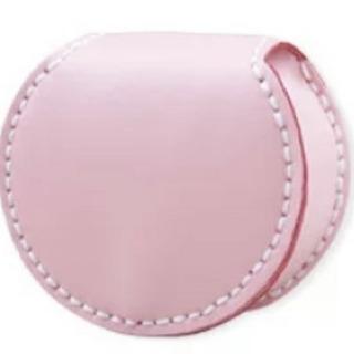 新品馬蹄型メンズ小銭入れ、本革(桜の花びら)系財布携帯便利