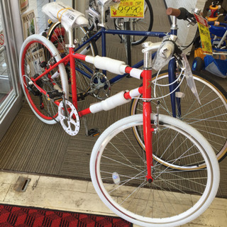 4/15  【新品✨】クロスバイク  ロードバイク  未使用✨レ...