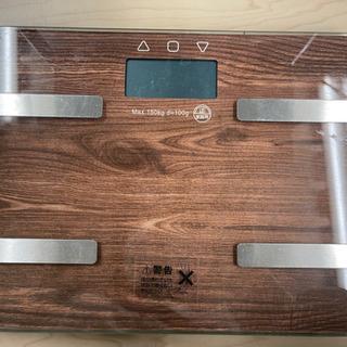 【体重チェック🙆♀️🙆♂️1台あると良いね😎✨】体重計