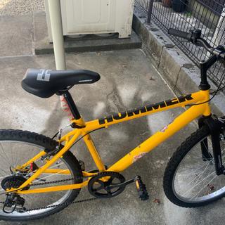 【ネット決済】ハマー 自転車