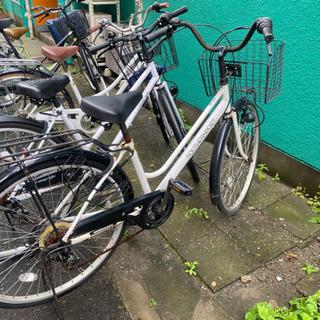 自転車 鍵付き