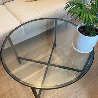 【ネット決済】IKEA ガラステーブル♡おしゃれ