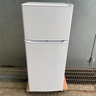 19年製 ハイアール 2ドア冷凍冷蔵庫 130Lの画像