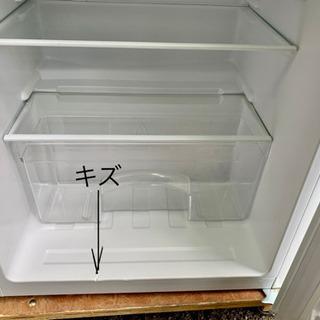 19年製 ハイアール 2ドア冷凍冷蔵庫 130L - 家電
