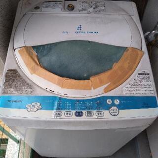 TOSHIBA洗濯機5Kg ボロいが稼働◎