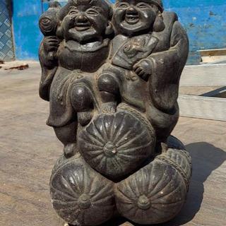陶器製恵比寿大黒像