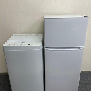 2点【高年式2018年製~2020年製】【冷蔵庫・洗濯機】