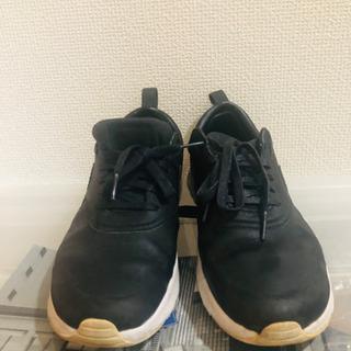 ブラック ナイキ スニーカー - 靴/バッグ