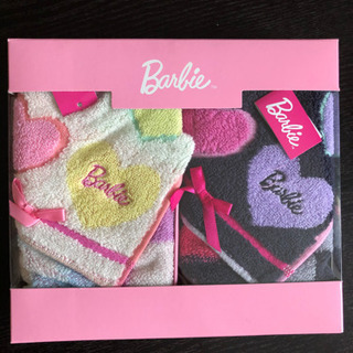 【新品】Barbieハンドタオルギフト