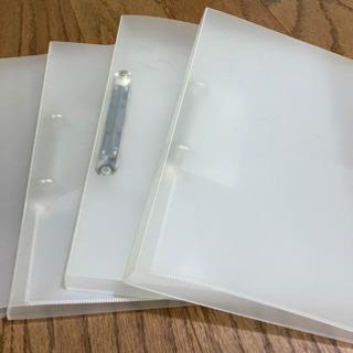 A4サイズ ファイルブック・クリアファイル