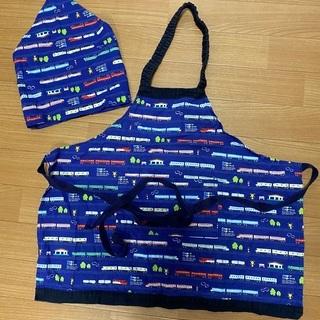 幼稚園児用エプロンと三角巾
