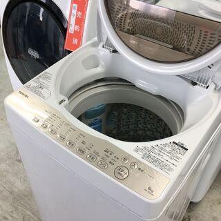 東芝6.0K洗濯機 2018年製 分解クリーニング済み!