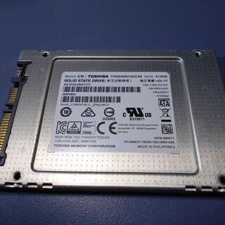 Toshiba SSD 512GB 中古