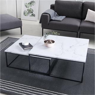 大理石風テーブル テーブル ロウヤ LOWYA Mサイズ