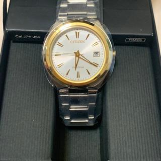 【新品未使用】citizenエコドライブ レディス腕時計