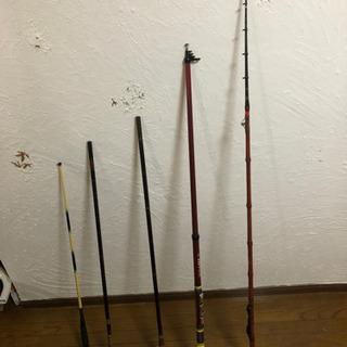 釣り竿5本セット