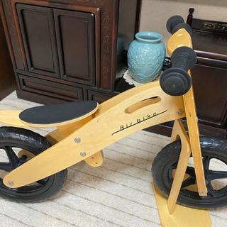 木製キックバイク ストライダー バランスバイク