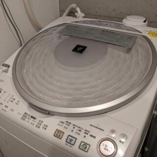 【中古】縦型洗濯乾燥機8kg 譲ります