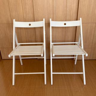IKEA TERJE テリエ 3点 イス 椅子 中古