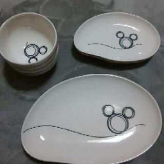 ミッキーマウスおもてなしセット6枚