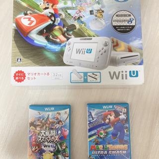 【ネット決済】【WiiU マリオカート8セット】ソフトおまけ付き