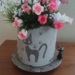 ジブリコレクション!ジジのアンティーク植木鉢