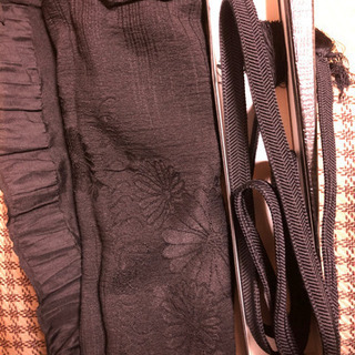 新品 和装 喪服 帯セット