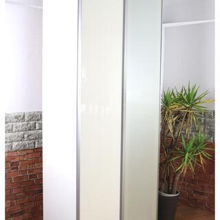 大容量◎ 食器棚 キッチンボード キッチン収納 ホワイト/白 ス...
