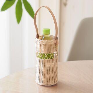 籐編みラタンのペットボトルホルダー作り♪