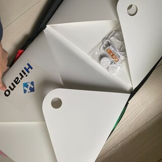 【ネット決済】撮影ボックス『革明』【ヒラノ照明】40cm簡易スタジオ